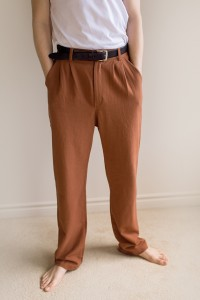 Men's Pants in brown