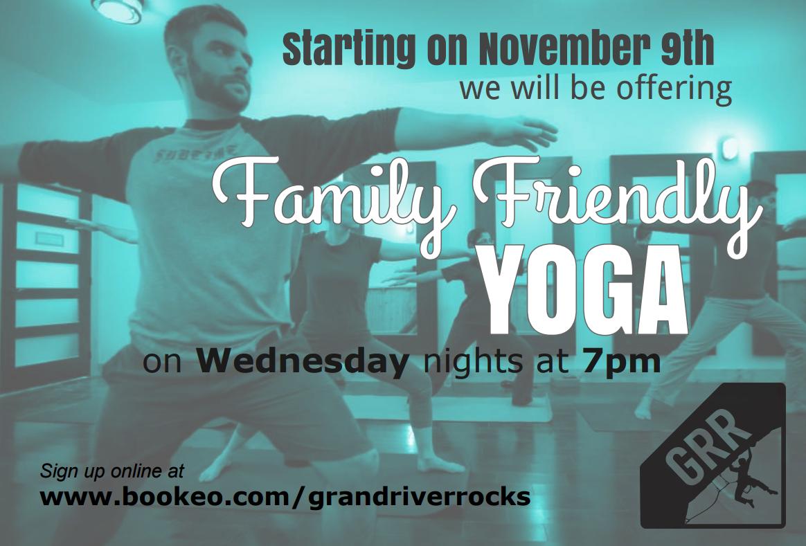 Yoga - Grand River Rocks Climbing Gym